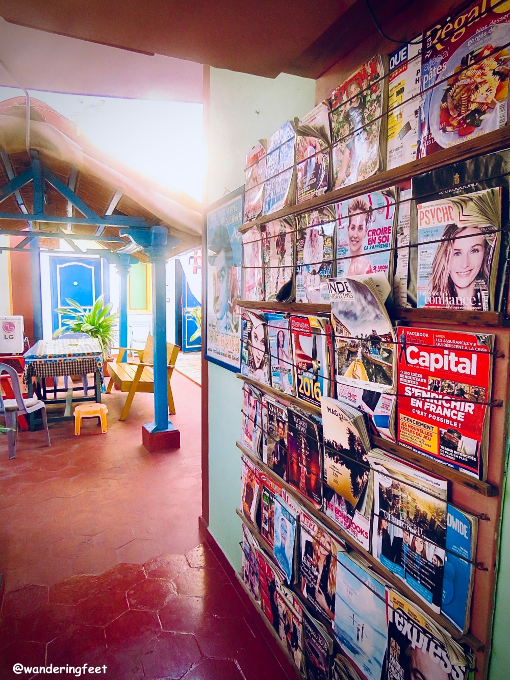 Interiors of Swades Homestay