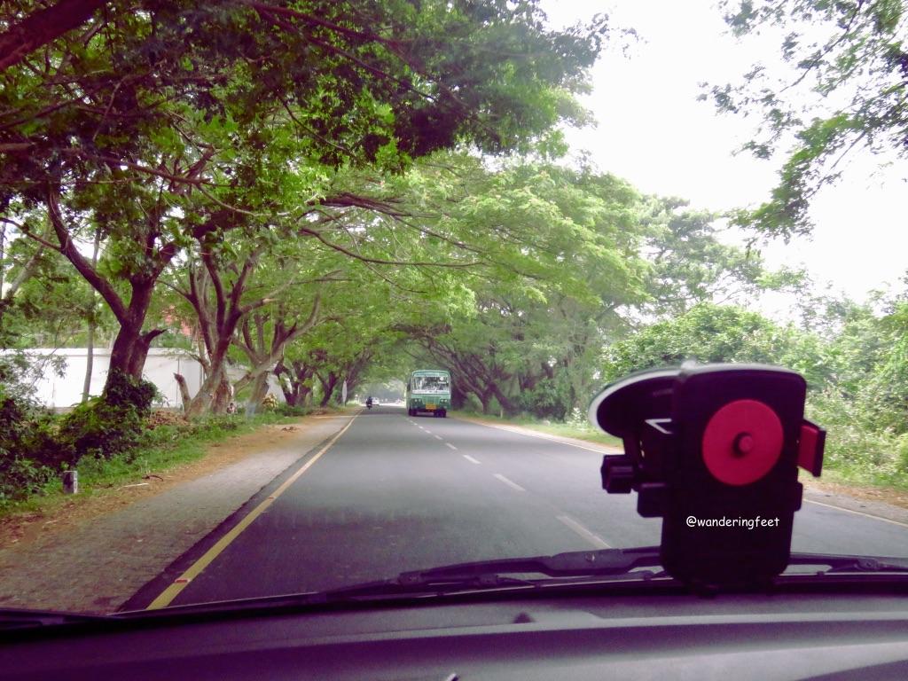 Scenic route from Chennai to Pondicherry