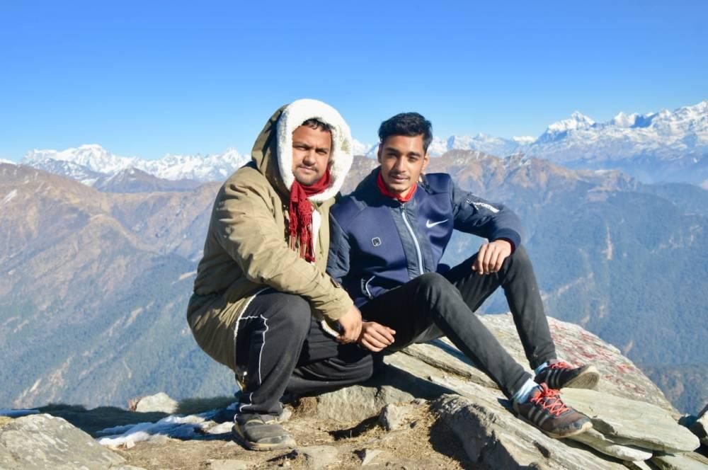Trek Champs - our trek lead & driver bhaiji