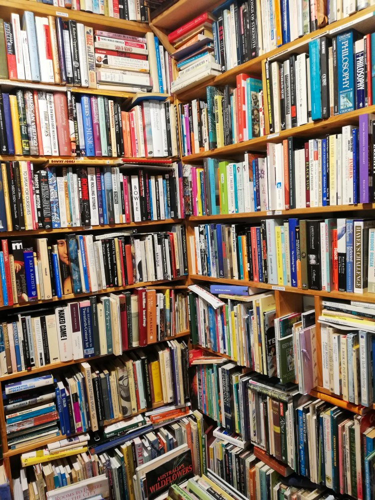 Book Store inside Salamanca Market